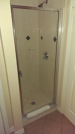 Mystic Dunes Resort & Golf Club: tiny shower