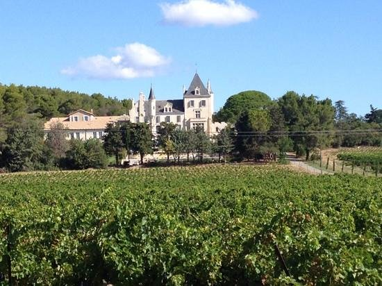 Chateau Les Carrasses : The Approach