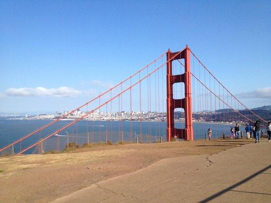 Extranomical Tours : North end of Golden Gate Bridge near Battery Spenser
