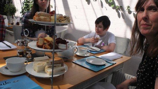 The Ickworth Hotel: afternoon tea.........