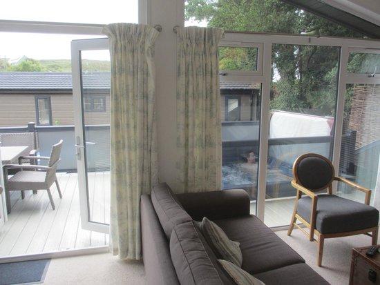 Mullion Cove Coastal Retreat: From lounge