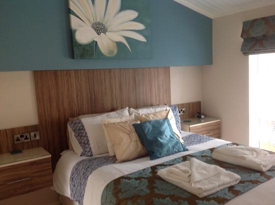 Jaybelle Grange Lodges: Our room!