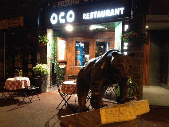 Restaurante Pizzeria Oco: Façana