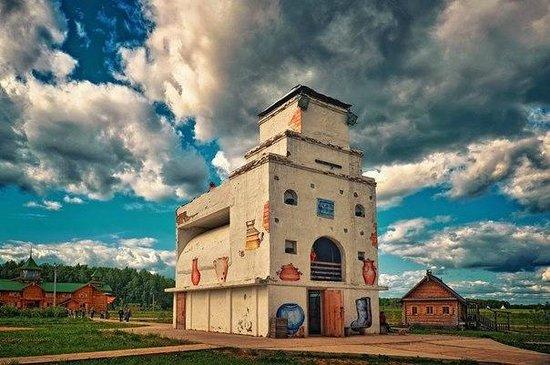 Petrovo, รัสเซีย: Самая большая русская печь в мире
