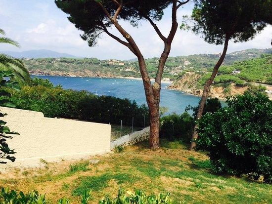 Residence Calasilente: Vista dalla veranda