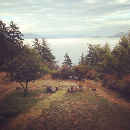 Orcas Island Bayside Cottages: Impeccable view!