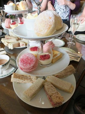 Storrs Hall: Our Afternoon Tea.