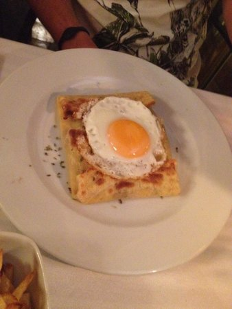Restaurante Creps Grill: Bolognese creres! Tasty!!!!!