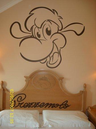 Gardaland Hotel: letto