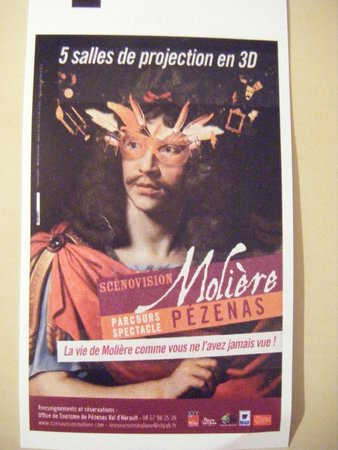 Scénovision Molière