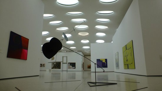 Staedel Museum : Contemporary art hall