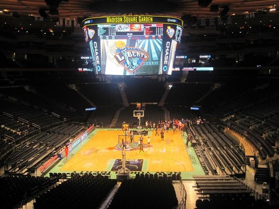 Madison Square Garden: Pitch
