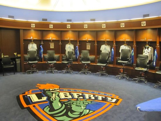 Madison Square Garden: Changing room