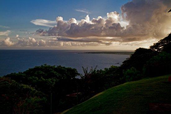 Fort King George: sunset at fort Geroge