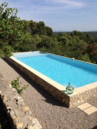 Le Pavillon de Beauregard: la piscina
