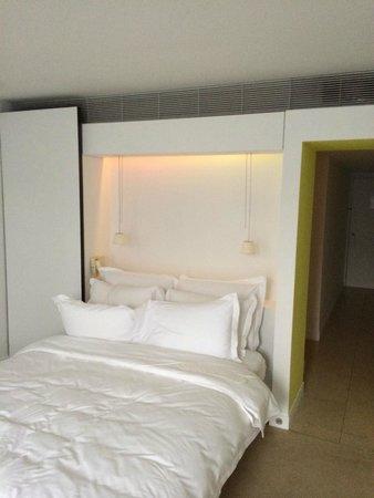 St Martins Lane London Hotel: La chambre.