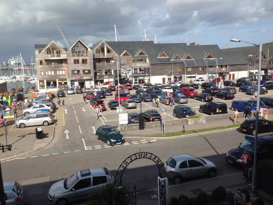 The Falmouth Townhouse: View from Room four