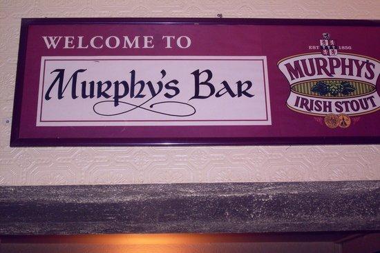 Murphy's Bar: So says the sign