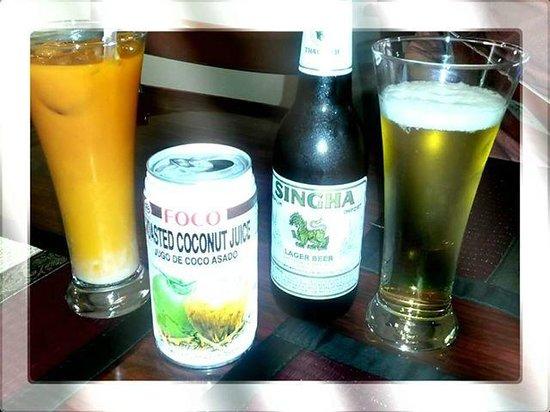 Bangkok Thai Cuisine : Bebidas
