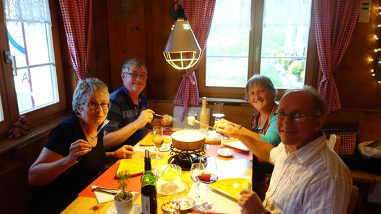 Gasthaus Alpina: A Swiss Cheese Fondue to Start the Party