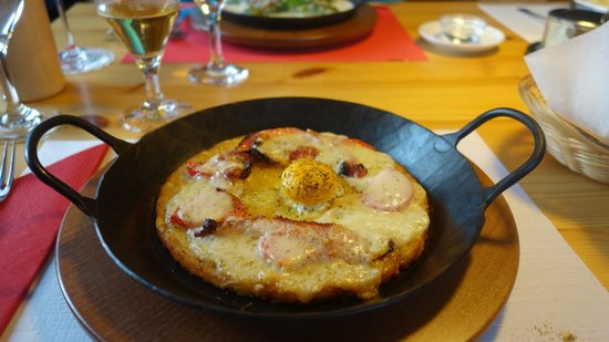 Gasthaus Alpina: A very traditional Grison Specialty: Capuns