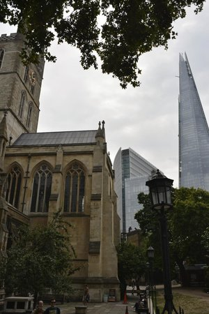 The View from The Shard: The Shard from Southwark Carhedral