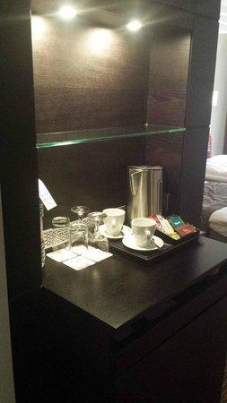 Radisson Blu Elizabete Hotel: coffee and tea