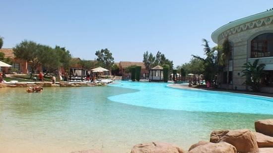 Jungle Aqua Park: pool near reception