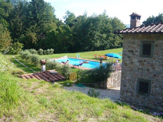 Agriturismo Campolaia: la piscina