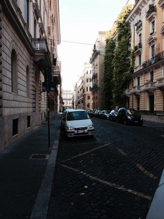 On quiet street