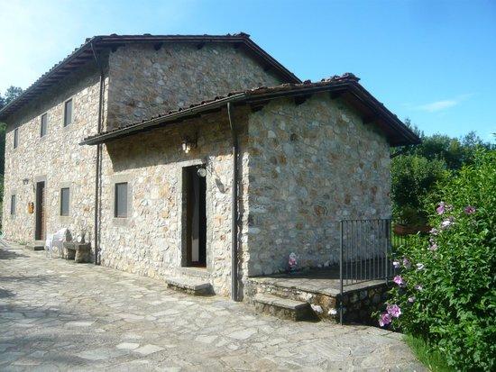 Agriturismo Campolaia: la entrata