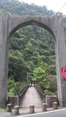 Wu Lai Suspension Bridge