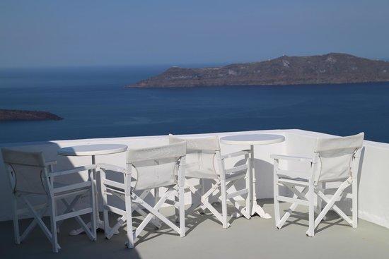 Ira Hotel & Spa : Área com vista para o mar