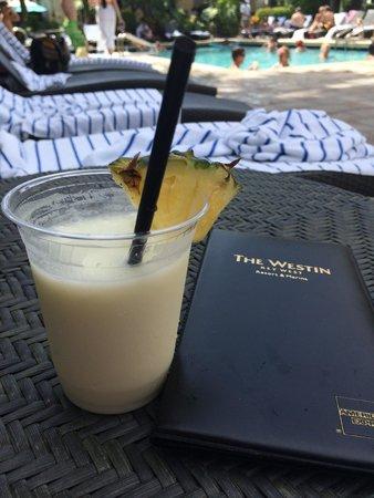 Margaritaville Key West Resort & Marina: Piña Colada by the pool