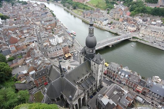 La Citadelle de Dinant: Nice view of the city