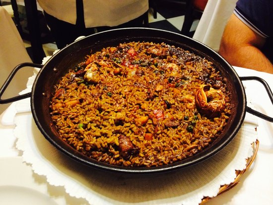 7 Portes: Paella traditionnelle