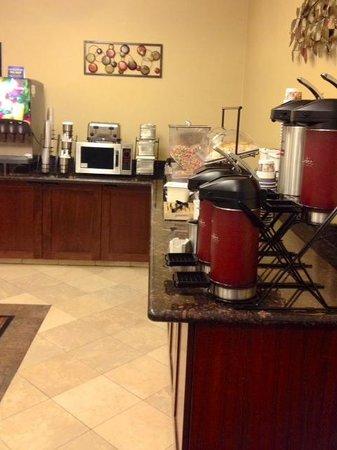 Best Western Wilsonville Inn & Suites: Good coffee at breakfast