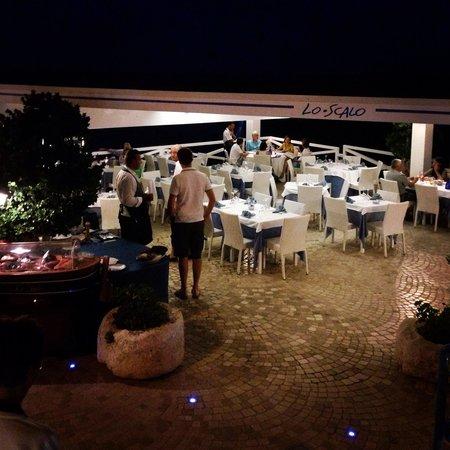 Lo Scalo Residence Ristorante: Sala ristorante