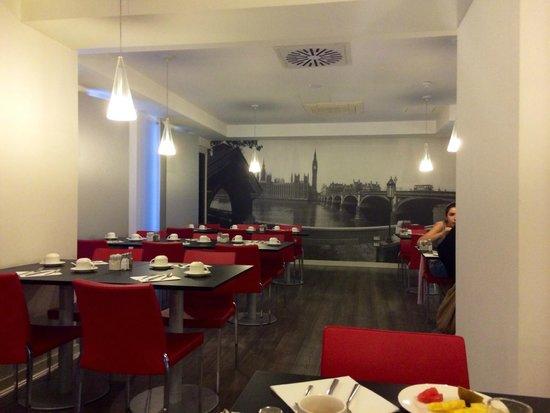 The Queen's Gate Hotel: sala per colazioni