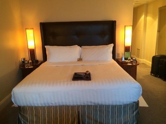 Mandarin Oriental, Washington DC: le lit tres ( trop) confortable...