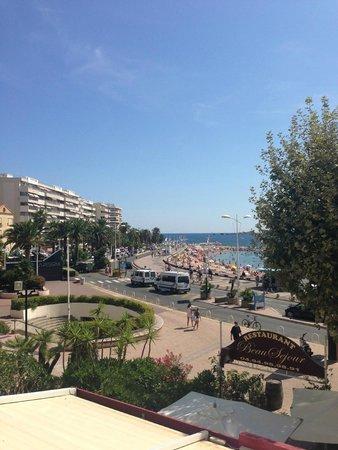 Hôtel Le Beau Séjour : Vue sur mer