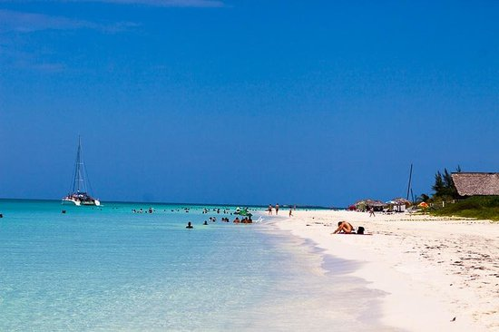 Playa Pilar: For me, the best beach I visited in Cuba.