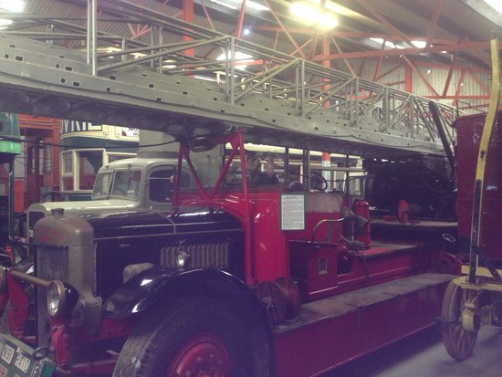 National Transport Museum: Traditional fire engine