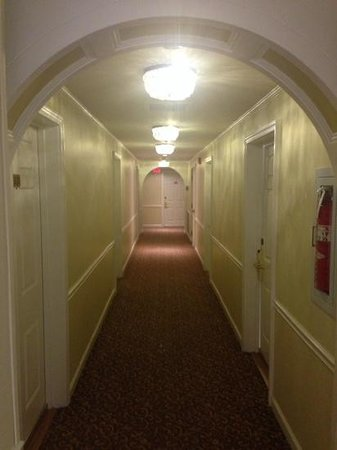 Hotel Chester: photo doesnt do justice to the bright hallway and historic feel of the hotel