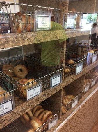 Carolina Bagel Co & Deli: Some of the Bagels