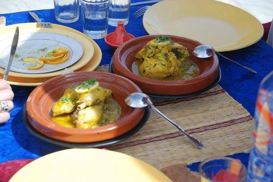 Restaurant Oasis Tafilalet: Lunch at Oasis Tafilalet