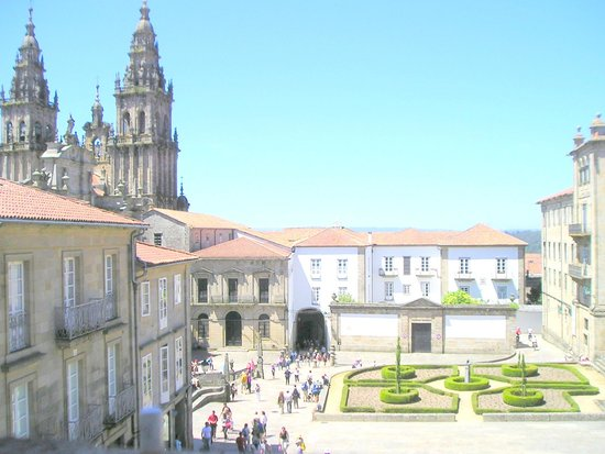 Apartments Casa de la Inmaculada: Plaza de la Inmaculada vista exterior del apartamento