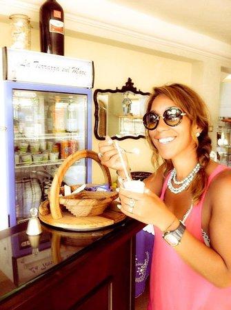 B&B La Terrazza sul mare : mauler fresh lemon ��GRANITA�� = so quenching