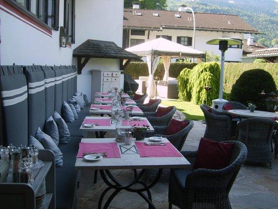 Staudacherhof: Außenbereich Lunchbuffet