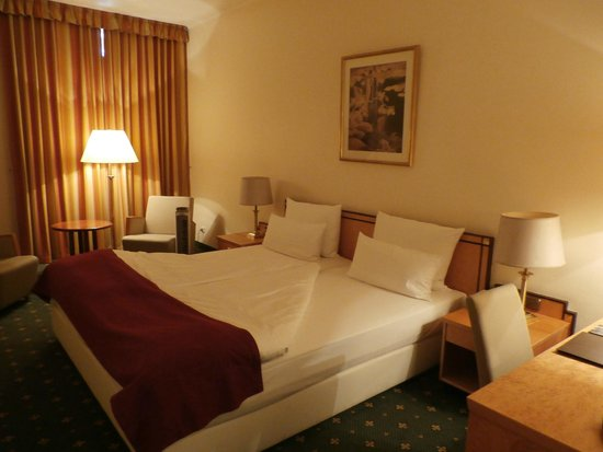Hotel Halm Konstanz: Room in the old wing